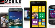 Mobile World Congress Barcelona - die neuen Smartphones 2015