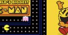 Auf 'Worlds Biggest Pacman' knnen Nostalgiker grenzenlos spielen