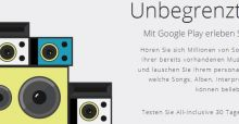 Musik-Flatrate: Google startet Streaming