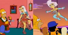 Lady Gaga bei den Simpsons