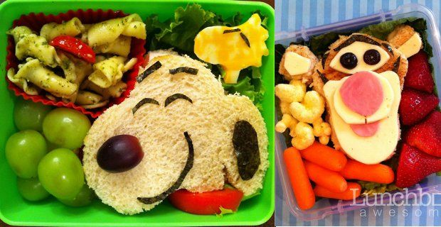 Lunchbox Awesome Kreative Snacks Für Kinder