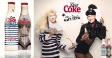 Jean Paul Gaultier: 3 Diet Coke Flaschen