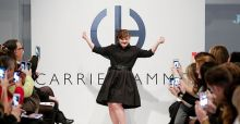Jamie Brewer, das erste Model mit Down-Syndrom bei der New York Fashion Week 2015