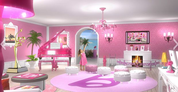 in berlin er ffnet das weltweit erste barbie haus. Black Bedroom Furniture Sets. Home Design Ideas