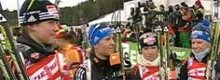 Biathlon-WM: Staffelgold