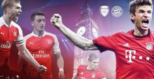 Champions League 2015/2016: Arsenal - Bayern im Livestream