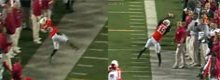 Starke Interception im US-College-Football